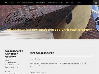 Goldschmiede Christoph Greinert
