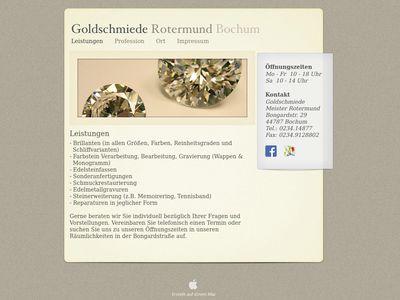 Heinz-Werner Rotermund Goldschmiedemeister