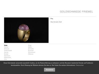 Klaus Friemel Goldschmiede