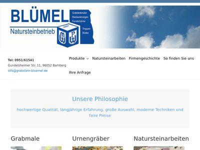 Blümel GmbH Natursteinbetrieb