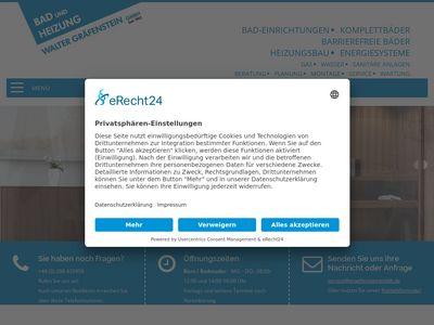 Walter Gräfenstein GmbH Sanitärtechnik
