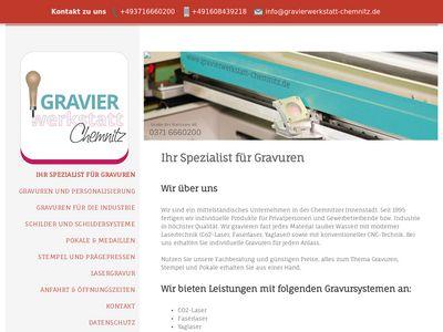 Gravierwerkstatt Chemnitz