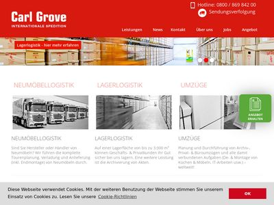 Grove Spedition GmbH Umzüge