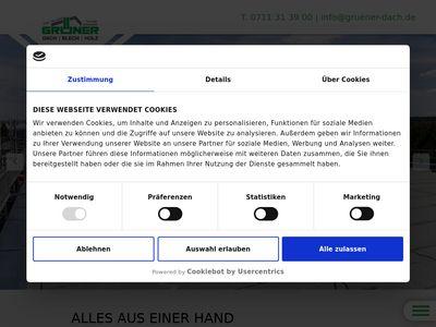 Grüner Bedachungen und Gerüstbau GmbH