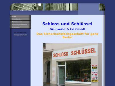 Schloss und Schlüssel Grunwald & Co GmbH