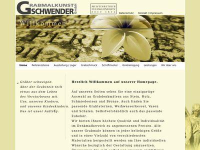 Grabmalkunst Gschwender GmbH