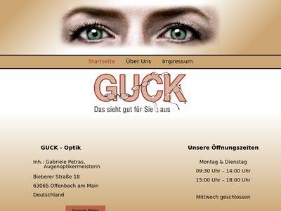 Guck Augenoptik