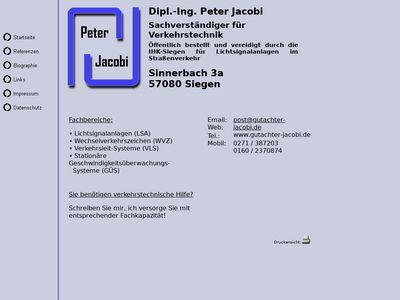 Dipl.-Ing. Peter Jacobi