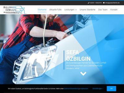 Kfz-Sachverständiger Sefa Özbilgin