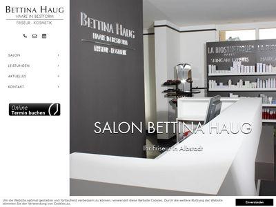 Bettina Haug - Haare in Bestform