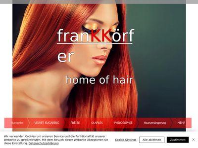 Frank Körfer- home of hair, Jülich