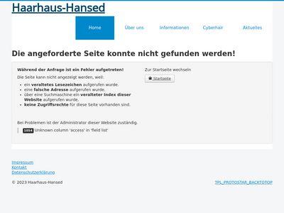 Haarhaus Hansed Saarbrücken