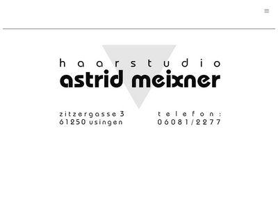 Astrid Meixner