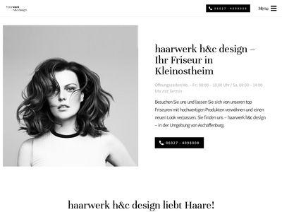 Haarwerk + Design
