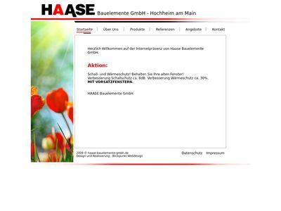 Haase - Bauelemente GmbH
