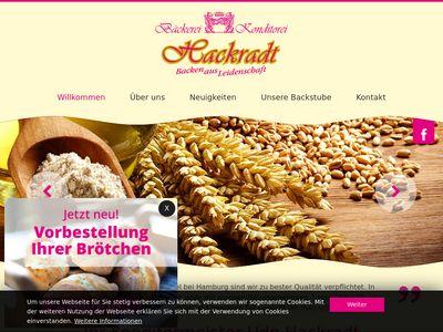 Bäckerei & Konditorei Hackradt