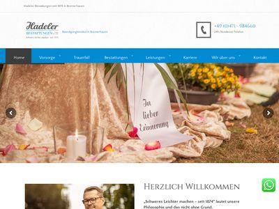 Hadeler Bestattungen GmbH & Co. KG