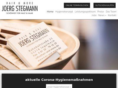 Hair + more Joerg Stegmann