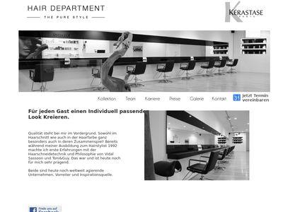 HAIR DEPARTMENT