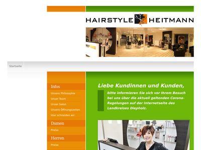Friseur Hairstyle Heitmann