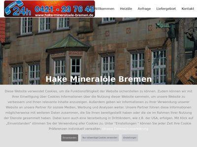 Hake Mineralöle Bremen