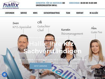 Kfz-Sachverständiger Oliver Hallix