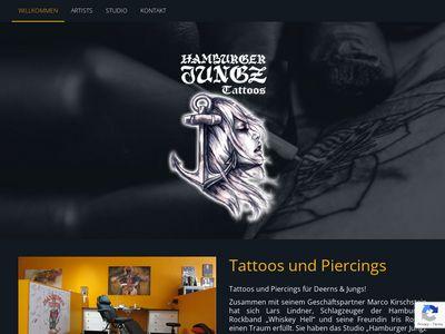 Hamburger Jungz Tattoos