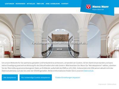 Hans Horr GmbH & Co. KG Malereibetrieb