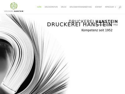 Druckerei Hanstein GmbH