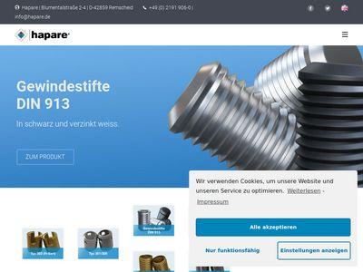 HAPARE Metallwaren Handels GmbH