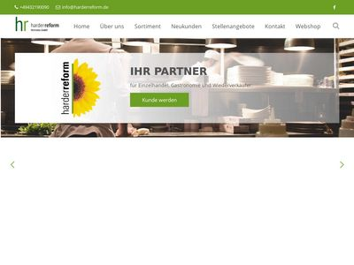 Harder Reform Vertriebs GmbH Naturkostwaren