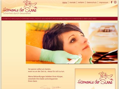 Woldt Sylvia Harmonie Der Sinne Kosmetik