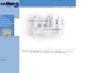 Hartmuth H. Berg Sanitärtechnik OHG