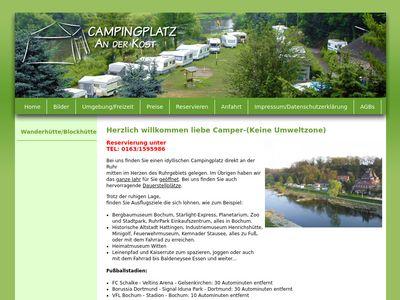 Campingplatz An der Kost