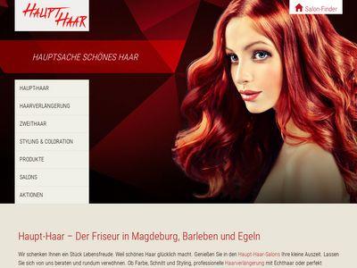 Haupt-Haar Friseur