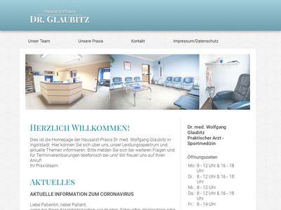 Dr.med. Wolfgang Glaubitz Praktischer Arzt