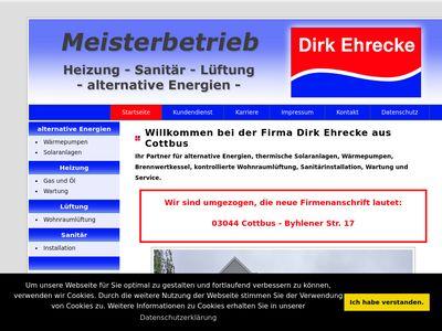 Dirk Ehrecke Sanitär und Heizung
