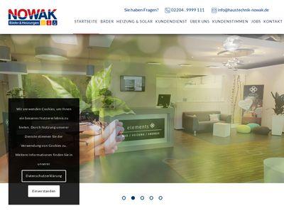 Nowak GmbH Heizung- Sanitär