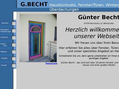 Becht Günter Fenster und Türen