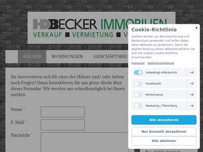 H. D. Becker Immobilienmakler