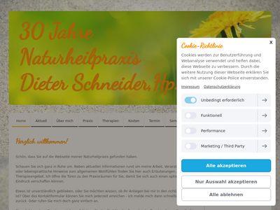 Naturheilpraxis Dieter Schneider, Hp.