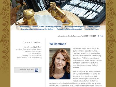 Heilpraktikerin Anette Fuhrmann