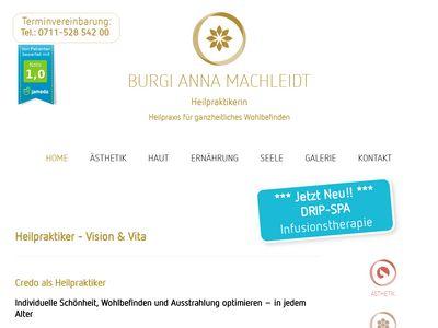Heilpraxis Burgi Anna Machleidt Heilpraktikerin