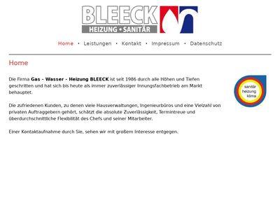 Wolfgang Bleeck Sanitärinstallation