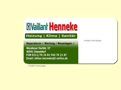 Lothar Henneke - Sanitär Heizung