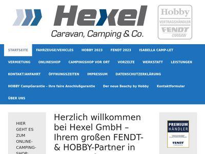 Hexel GmbH - Caravan, Camping & Co.