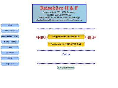 Reisebüro H & F