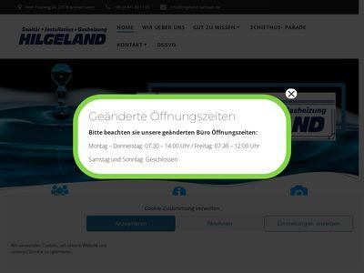 Andree Hilgeland Sanitär und Heizungen