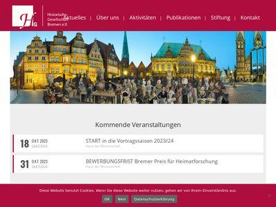 Historische Gesellschaft Bremen e.V.