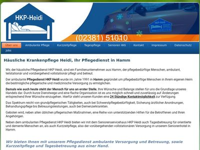 Pflegedienst HKP Heidi in Hamm